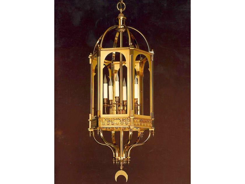 Bronze chandelier 30961 | Chandelier by Tisserant