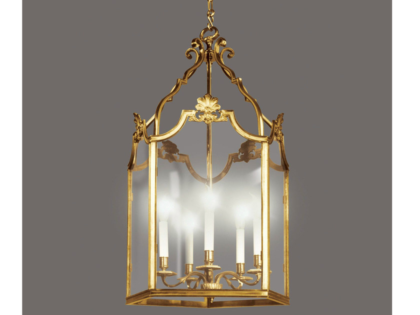 Bronze chandelier 34451 | Chandelier - Tisserant