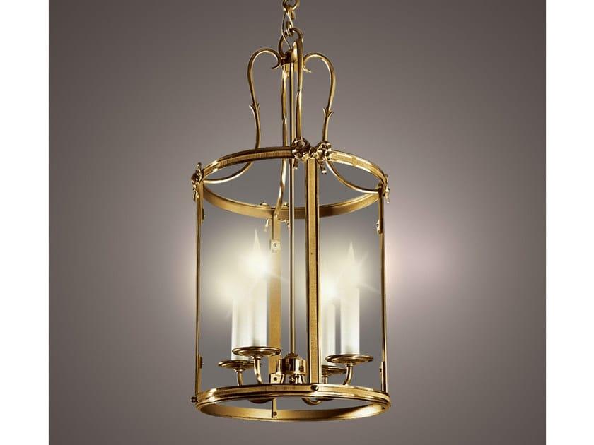 Bronze chandelier 34692 | Chandelier by Tisserant