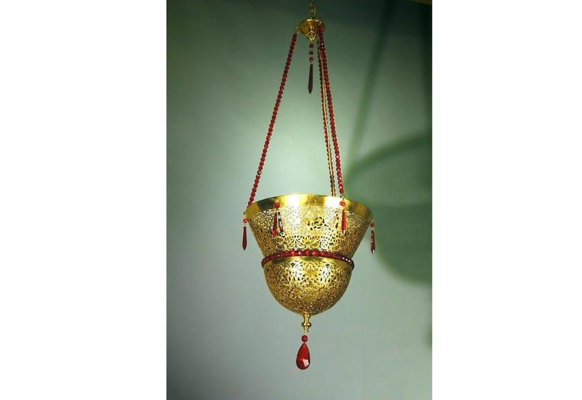 Bronze chandelier 31200 | Chandelier by Tisserant