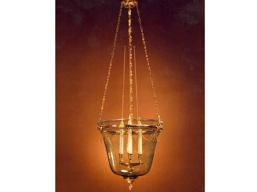 Glass chandelier 30996 | Chandelier - Tisserant