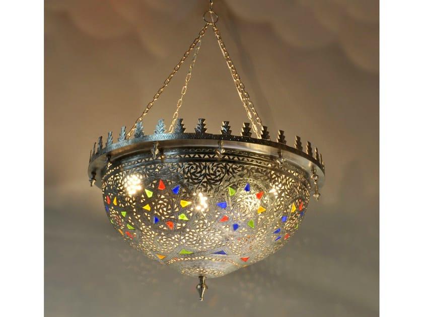 Brass chandelier 31400 | Chandelier by Tisserant