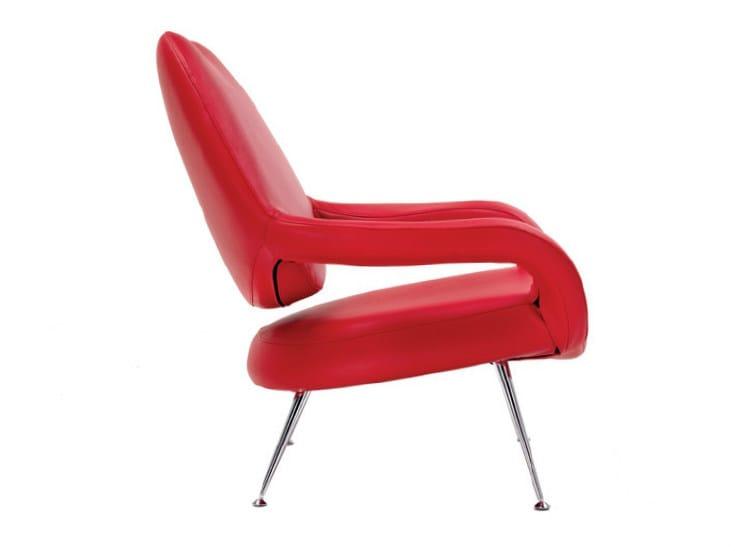 Armchair with armrests DU 55 | Armchair - Poltrona Frau