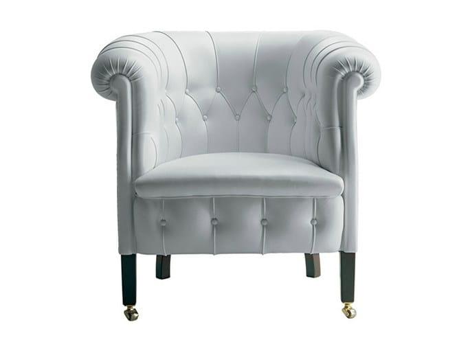 Tufted armchair FUMOIR | Armchair - Poltrona Frau