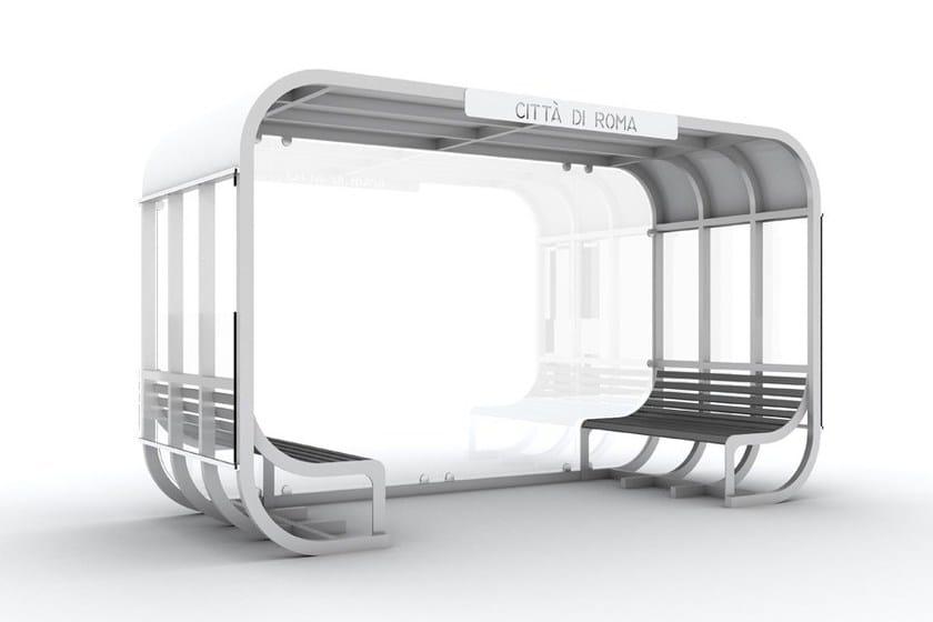 Porch for bus stop VAGONCINO - LAB23 Gibillero Design Collection