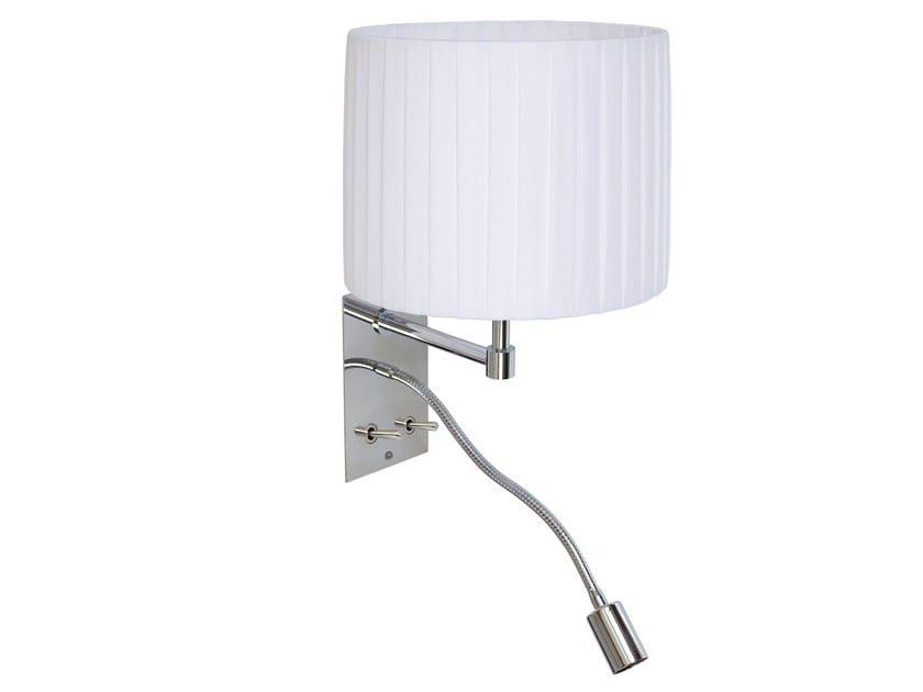 Adjustable fabric reading lamp IDILIANE - Brossier Saderne