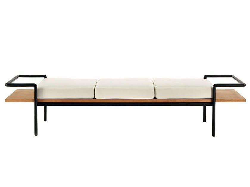 Ash bench T904 by Poltrona Frau