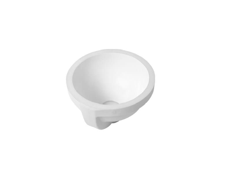 Undermount round ceramic washbasin ARCHITEC | Undermount washbasin - DURAVIT