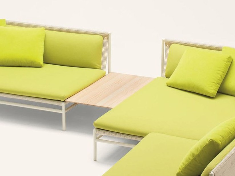 Low Accoya® wood coffee table CANVAS | Coffee table by Paola Lenti