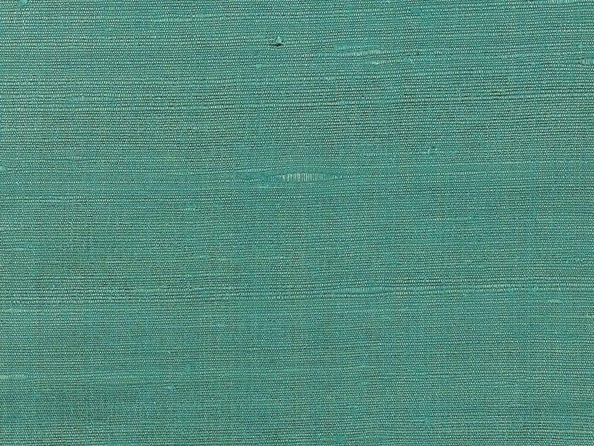 Solid-color silk fabric for curtains FANFARA by Dedar
