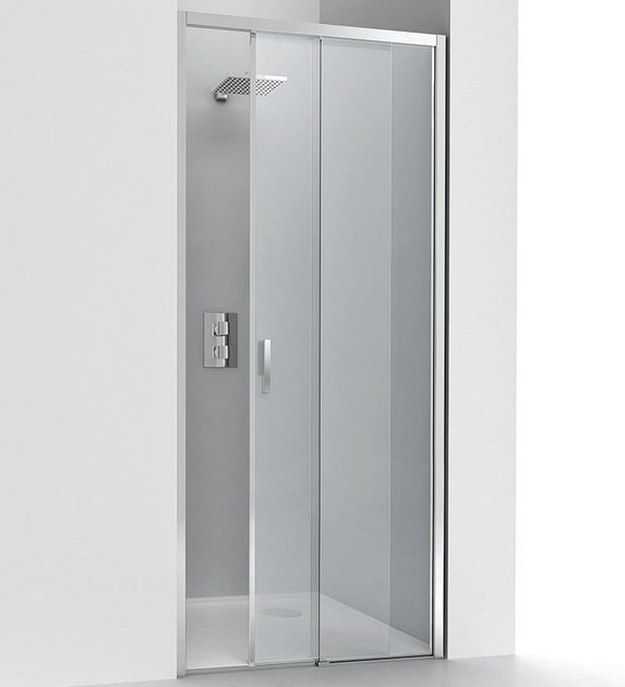 Niche crystal shower cabin with sliding door LIGHT SC1 by RELAX