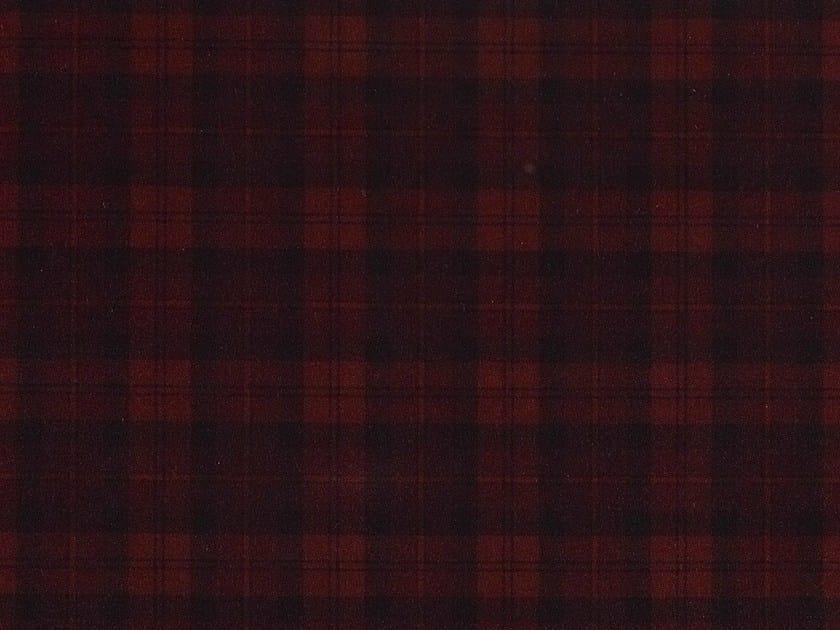 Check cotton fabric OBAN - Dedar