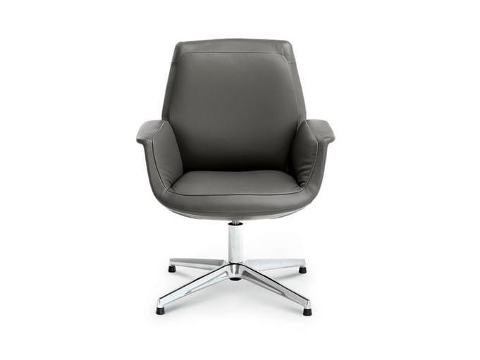 Task chair with 4-Spoke base DOWNTOWN | Task chair - Poltrona Frau