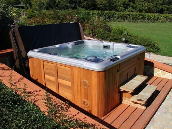 spa poser hydromassage 4 places h495 by clair azur. Black Bedroom Furniture Sets. Home Design Ideas