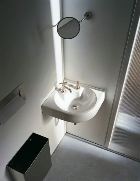 Lavabo ad angolo in ceramica architec lavabo ad angolo - Lavabo ad angolo ...