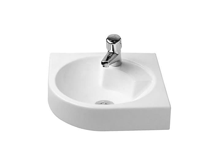 Corner ceramic washbasin ARCHITEC | Corner washbasin - DURAVIT