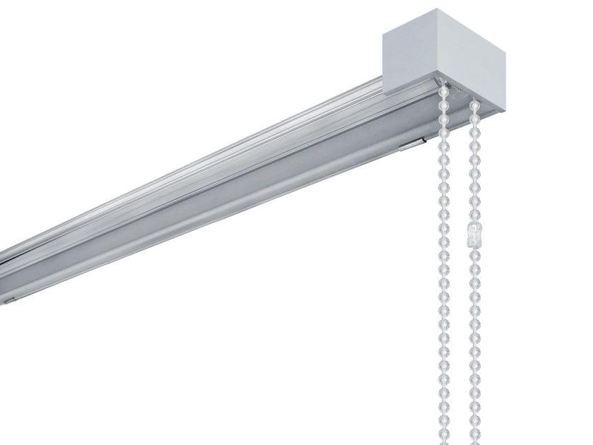 Glass and aluminium roller blind SERIE 123 - Scaglioni