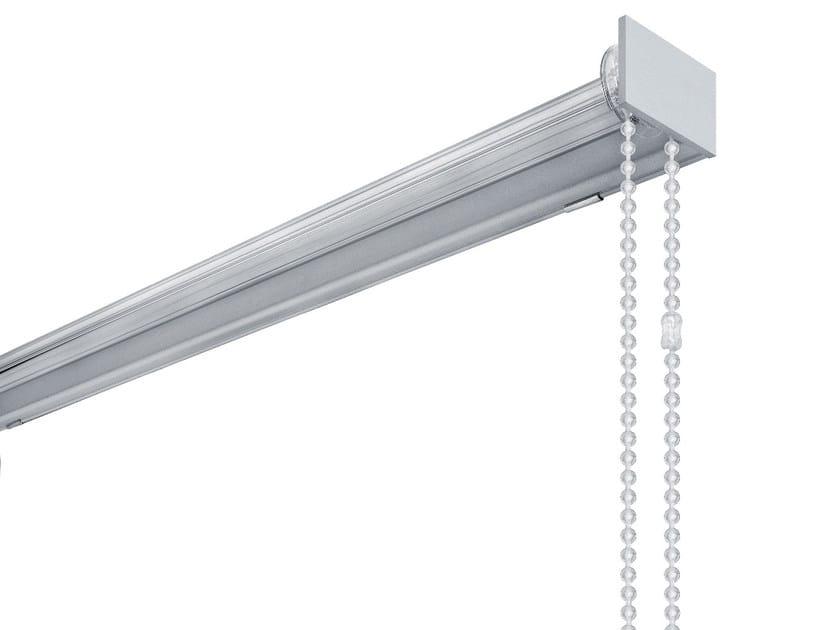 Glass and aluminium roller blind SERIE 122 - Scaglioni