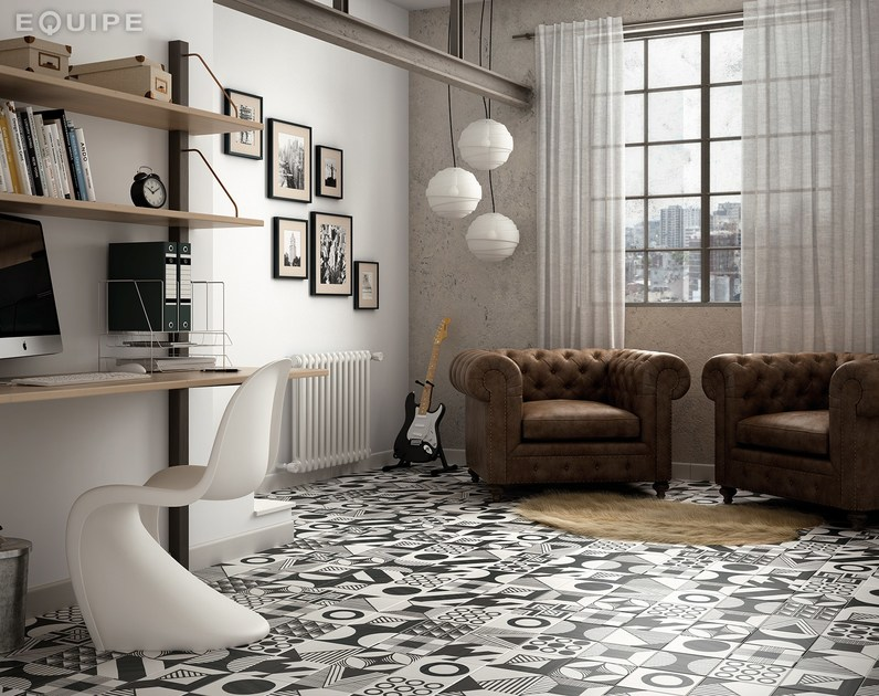 Rivestimento pavimento in gres porcellanato caprice deco for Piani di coperta 20x20
