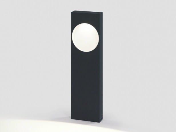 LED metal bollard light SKELP X P 40 by Delta Light