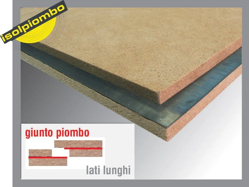 Sound insulation and sound absorbing felt with lead-laminate SONICO L PLUS - Thermak by MATCO