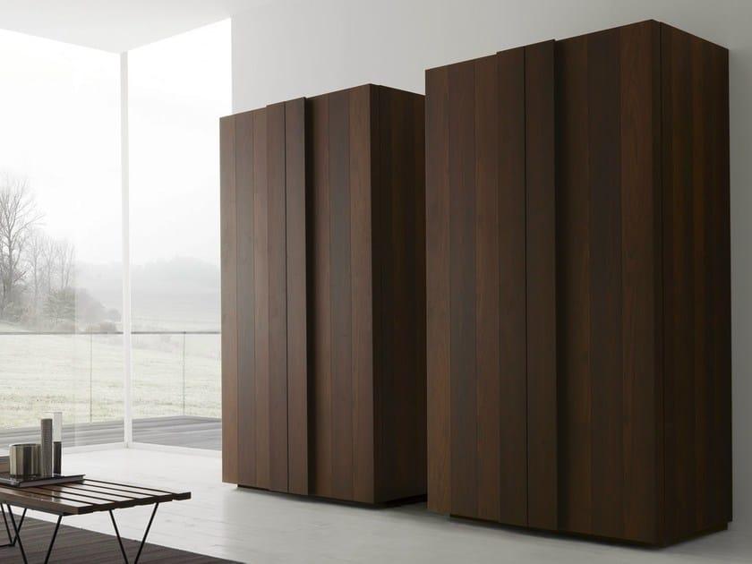 Wooden highboard with doors AXIS 012 | Highboard - Zampieri Cucine