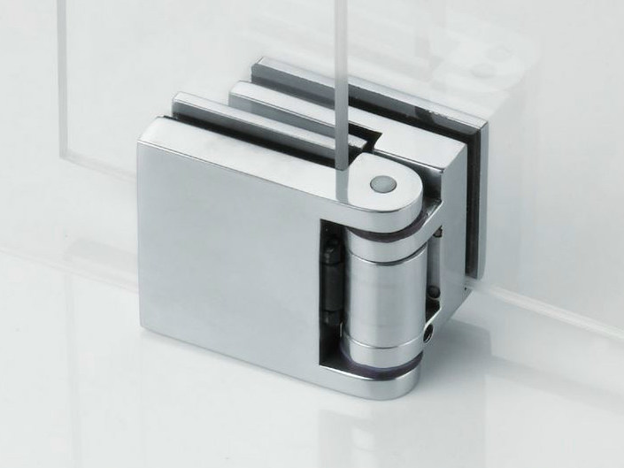 Glass door hinge B-302 BILICA DX -SX - Metalglas Bonomi