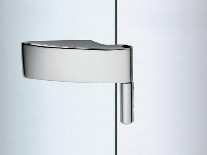 Glass door hinge V-401 | Hinge - Metalglas Bonomi