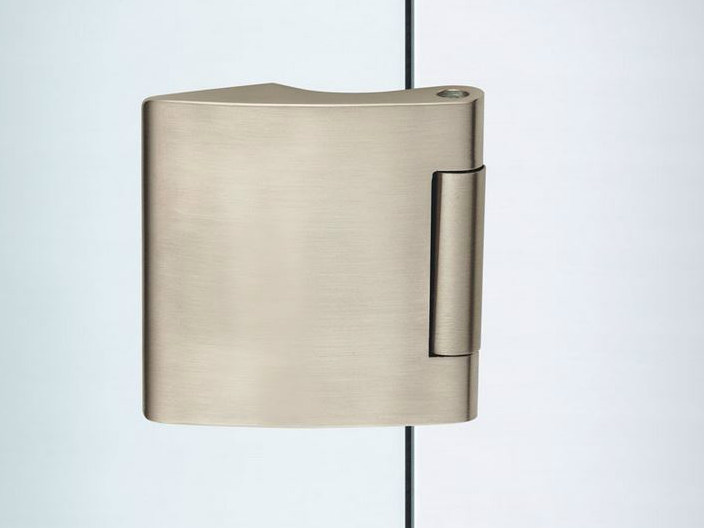 Glass door hinge V-402 ECONOMY | Hinge - Metalglas Bonomi
