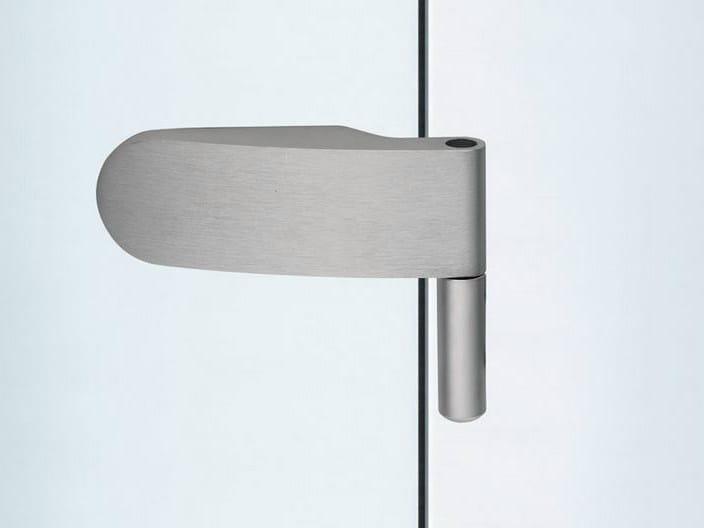 Glass door hinge V-201 ECONOMY | Hinge - Metalglas Bonomi