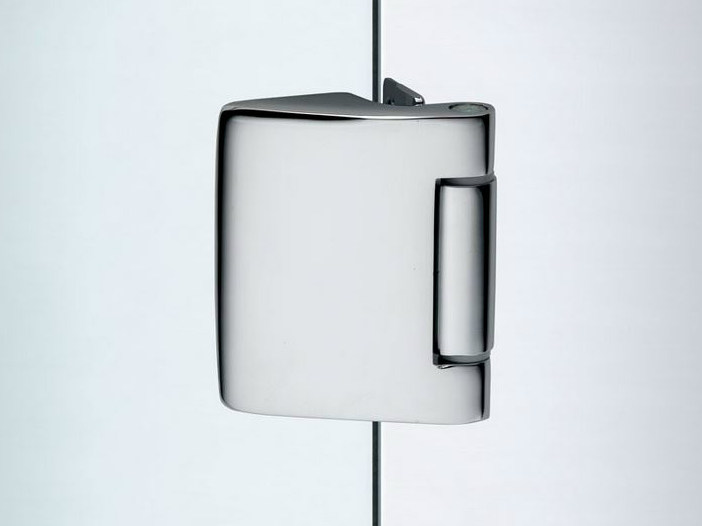 Glass door hinge V-501 | Hinge by Metalglas Bonomi