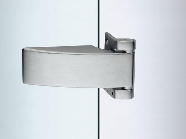 Glass door hinge V-403 | Hinge - Metalglas Bonomi