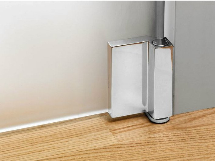 Glass door hinge V-707 | Hinge - Metalglas Bonomi