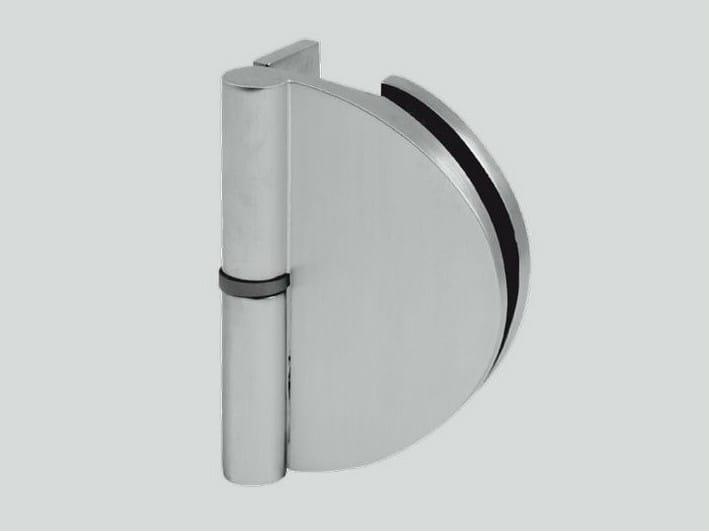 Glass door hinge B-601 DX - SX | Hinge by Metalglas Bonomi