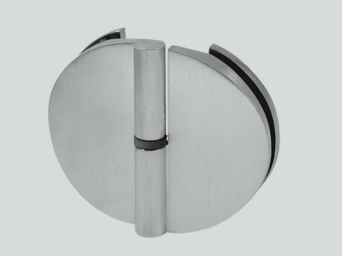 Glass door hinge B-602 DX-SX | Hinge - Metalglas Bonomi