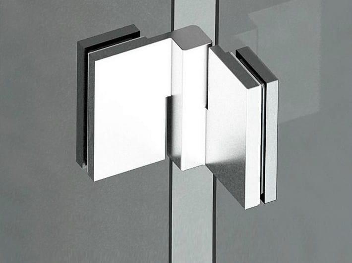 Glass door hinge B-502 DX - SX | Hinge - Metalglas Bonomi