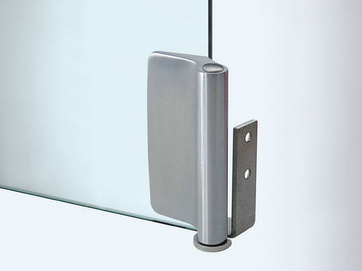 Glass door hinge V-107 | Hinge by Metalglas Bonomi