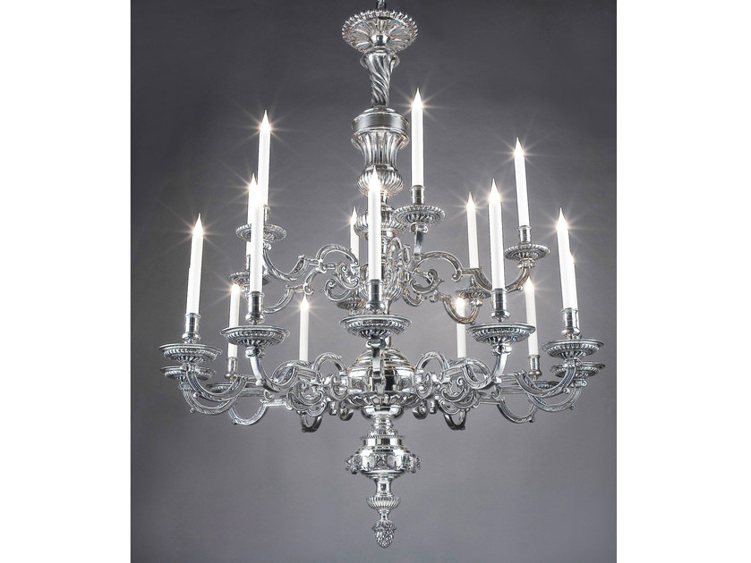 Bronze chandelier 14104 | Chandelier - Tisserant
