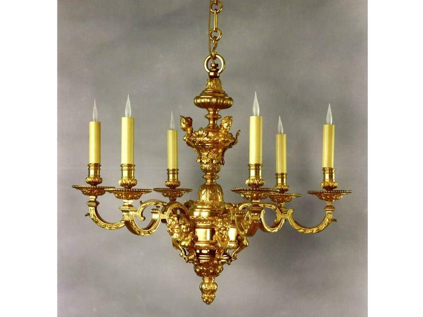 Bronze chandelier 14025   Chandelier - Tisserant