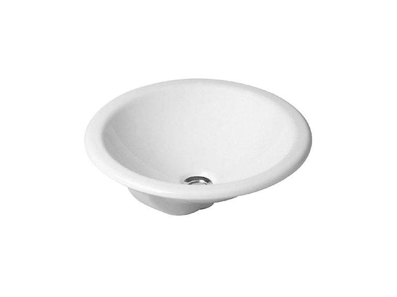 Inset ceramic washbasin ARCHITEC | Washbasin - DURAVIT