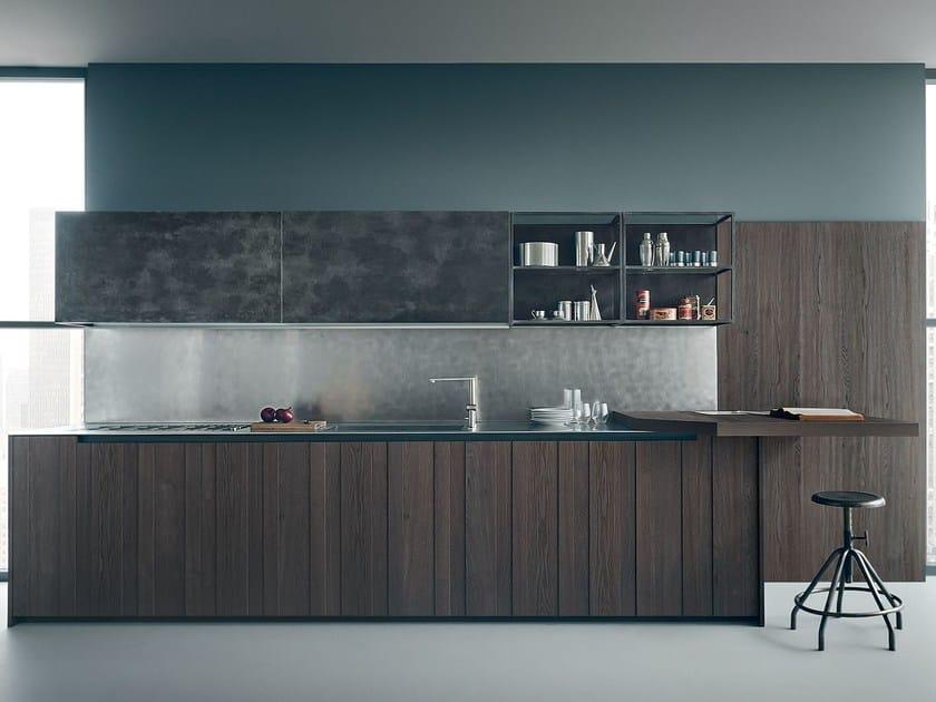 Oak kitchen FIFTY | Composition 02 - Zampieri Cucine