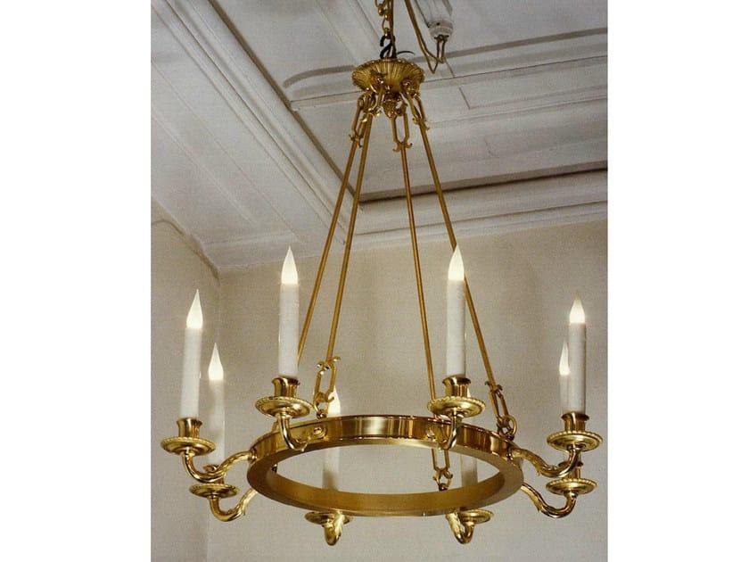 Bronze chandelier 14446 | Chandelier - Tisserant