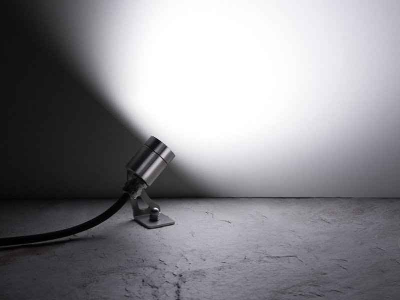 LED adjustable stainless steel spotlight CNC35 SWING - Lombardo