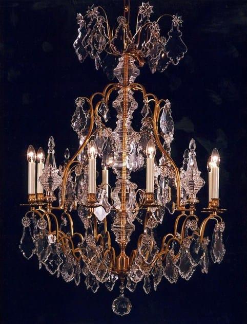 Crystal chandelier 14489 | Chandelier - Tisserant