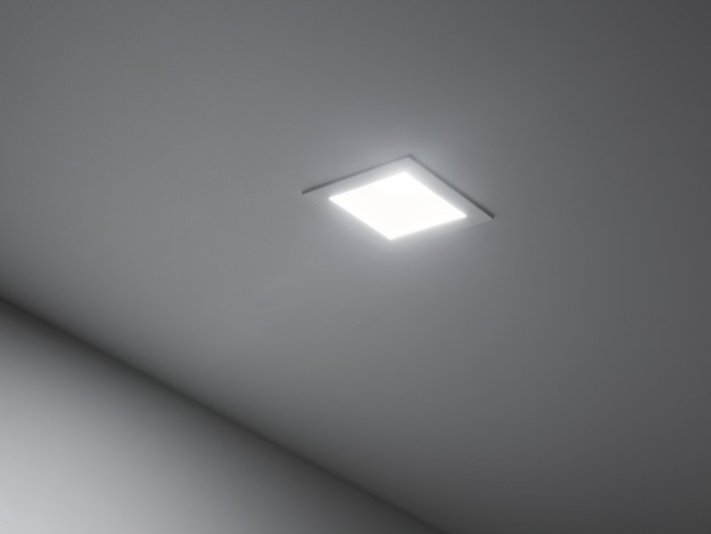 LED painted metal spotlight for false ceiling DOWNLIGHT 60Q by Lombardo