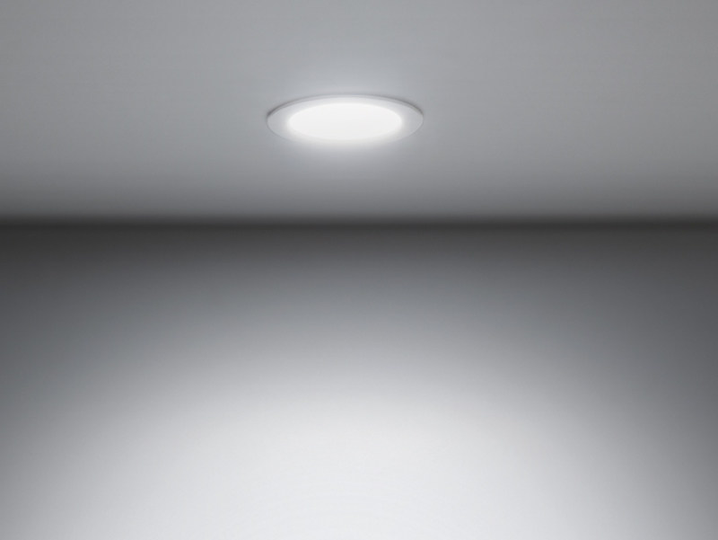 LED painted metal spotlight for false ceiling DOWNLIGHT 120T - Lombardo