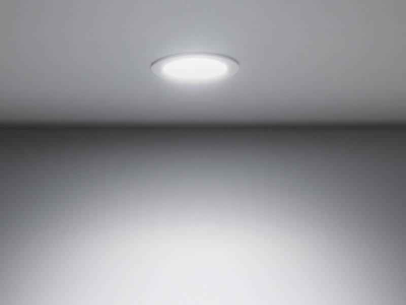 LED painted metal spotlight for false ceiling DOWNLIGHT 120T by Lombardo