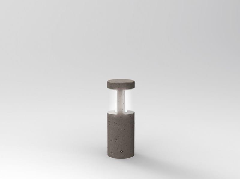 Cement bollard light PIPELINE T 50 - Lombardo
