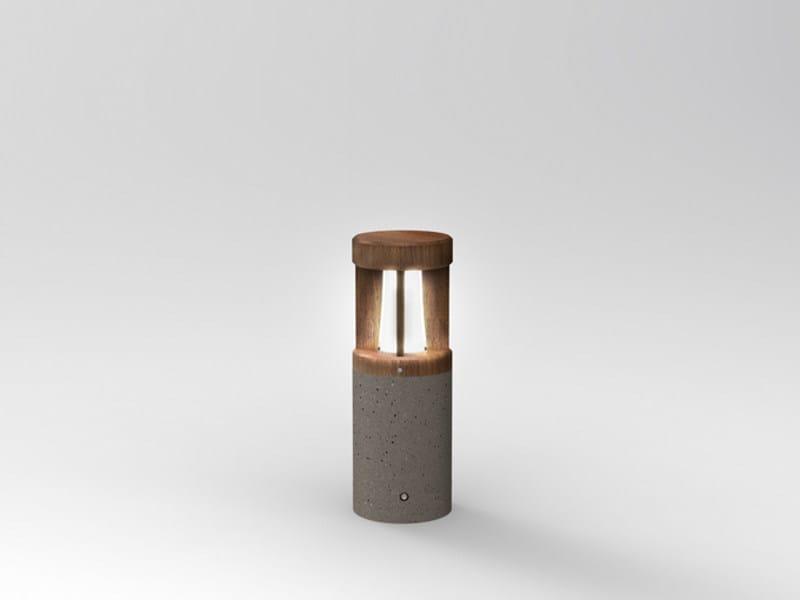 Cement bollard light PIPEWOOD 50 - Lombardo