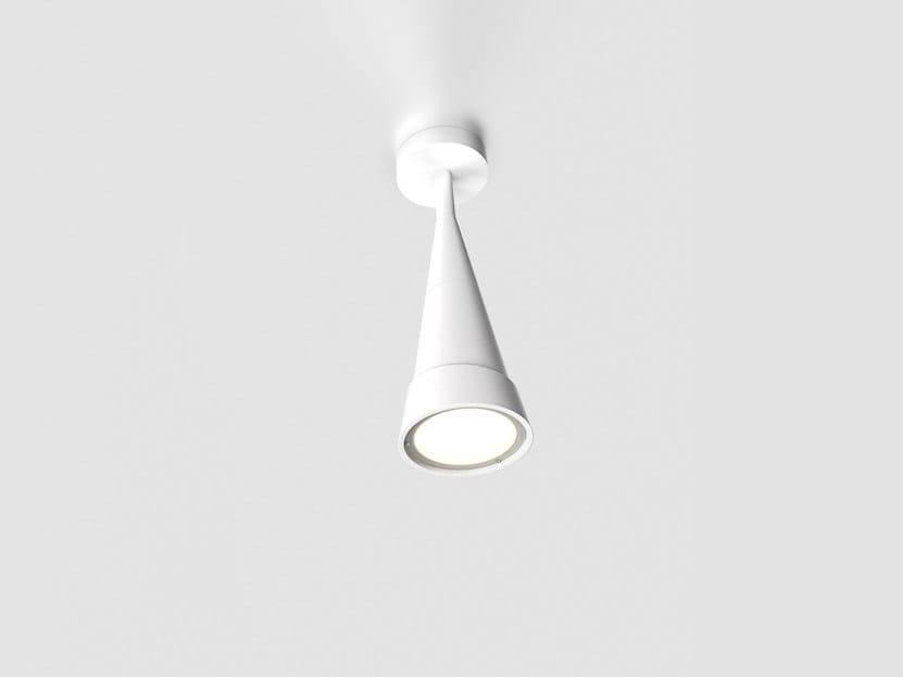 Cement ceiling lamp HANS REVERSE H45 - Lombardo